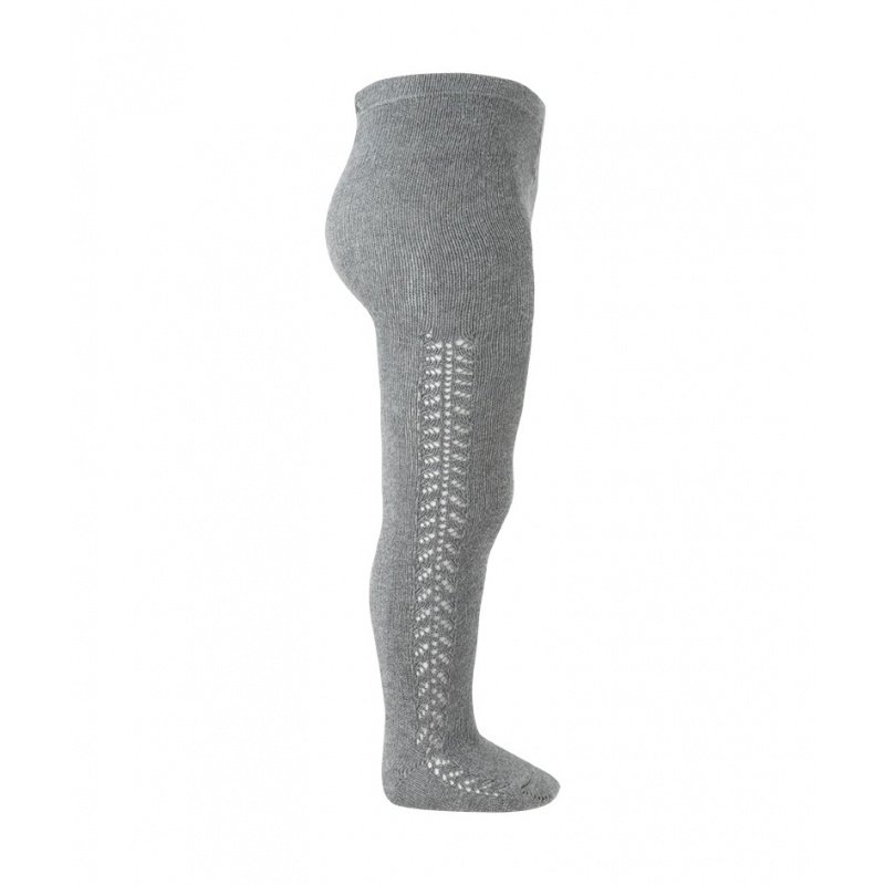 45b2bc0095ce CONDOR LIGHT GREY OPENWORK WARM TIGHTS REF.  2591 1 230 - masielbebe ...