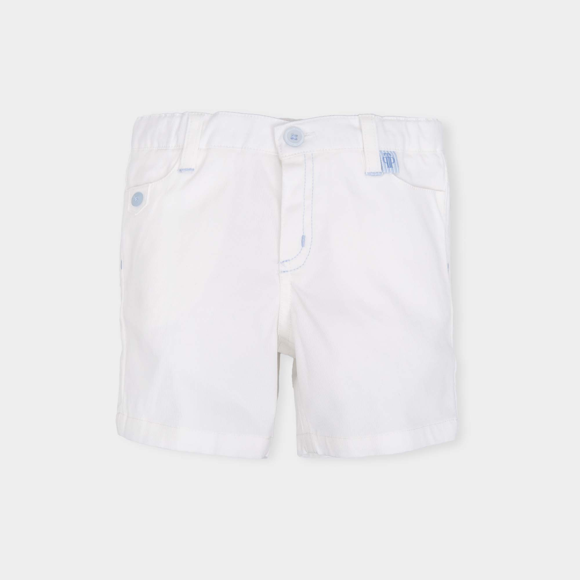 7925511088d8 TUTTO PICCOLO BOYS WHITE SHORTS REF.: 6317 - masielbebe.co.uk
