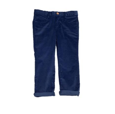 FINA EJERIQUE BOYS NAVY BLUE CORDUROY TROUSERS REF.: S4041